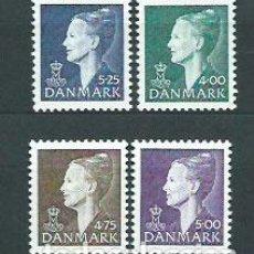 Briefmarken - Dinamarca Correo 1997 Yvert 1163/6 ** Mnh Margarita II - 162941666