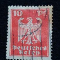 Sellos: SELLO ALEMAN, DEUTSCHES REICH, 10 PF, AÑO 1924,.. Lote 169216856