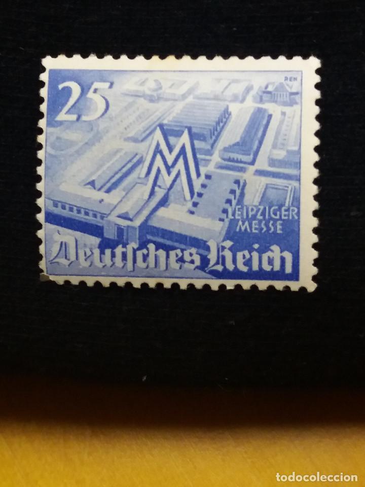 SELLO ALEMAN, DEUTSCHES REICH, 25 PF, AÑO 1940,.NUEVO (Sellos - Extranjero - Europa - Dinamarca)