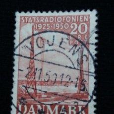 Sellos: SELLO, DINAMARCA, 20, STATSRADIOFONIEN, AÑO 1959.. Lote 169341140
