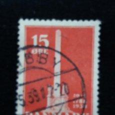 Sellos: SELLO, DINAMARCA, 15 ORE, AÑO 1935.. Lote 169342436