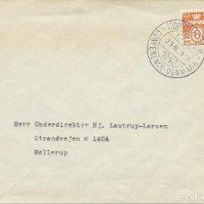Sellos: 1946. DINAMARCA/DENMARK. MATASELLOS/POSTMARK. CONFERENCIA FAO. AGRICULTURA. ALIMENTACIÓN. . Lote 171119834