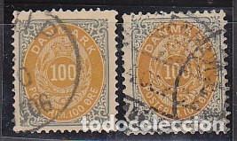 O 29 Y 29A.: 1875-1903 (Sellos - Extranjero - Europa - Dinamarca)