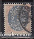 O 23A.: 1875/1903 (Sellos - Extranjero - Europa - Dinamarca)