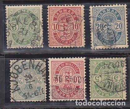 0 32/7 : 1882-95 (Sellos - Extranjero - Europa - Dinamarca)