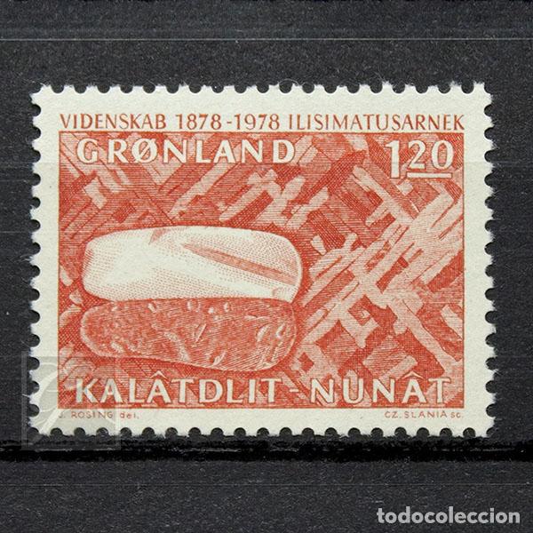 GROENLANDIA 1978 ~ INVESTIGACIÓN CIENTÍFICA ~ SELLO NUEVO MNH LUJO (Sellos - Extranjero - Europa - Dinamarca)