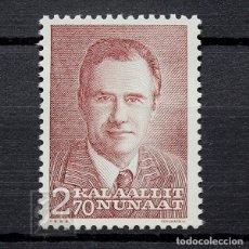 Sellos: GROENLANDIA 1984 ~ PRÍNCIPE HENRIK ~ SELLO NUEVO MNH LUJO. Lote 182643795