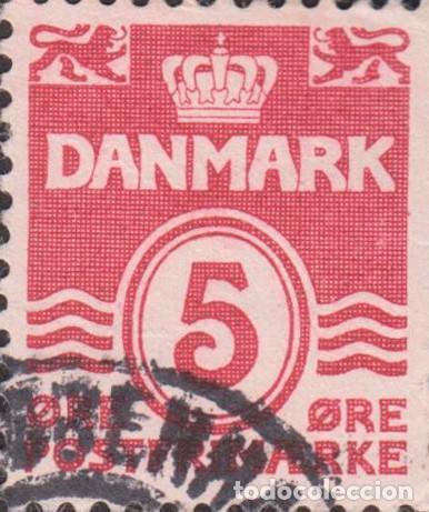 SELLO DINAMARCA DANMARK USADO FILATELIA CORREOS (Sellos - Extranjero - Europa - Dinamarca)