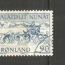 Selos: GROENLANDIA DINAMARCA YVERT NUM. 68 USADO. Lote 189112236