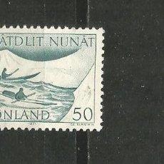 Selos: GROENLANDIA DINAMARCA YVERT NUM. 66 USADO. Lote 189112353