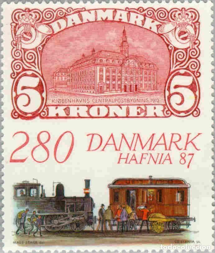 SELLO USADO DE DINAMARCA, YT 903 (Sellos - Extranjero - Europa - Dinamarca)
