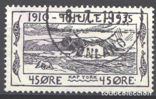 GROENLANDIA, THULE, 1935-36 YVERT Nº 5 (Sellos - Extranjero - Europa - Dinamarca)