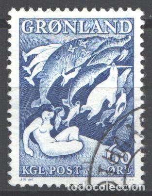 GROENLANDIA, 1957 YVERT Nº 30, (Sellos - Extranjero - Europa - Dinamarca)