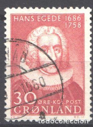 GROENLANDIA, 1958 YVERT Nº 32 (Sellos - Extranjero - Europa - Dinamarca)