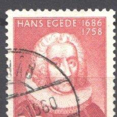 Sellos: GROENLANDIA, 1958 YVERT Nº 32. Lote 191123366