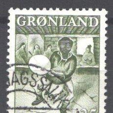 Francobolli: GROENLANDIA, 1961 YVERT Nº 35. Lote 191123728