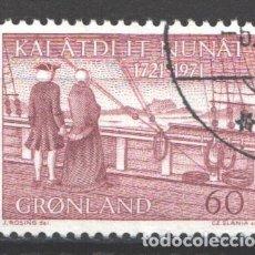 Francobolli: GROENLANDIA, 1971 YVERT Nº 65. Lote 191124821