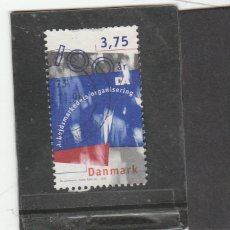 Sellos: DINAMARCA 1996 - YVERT NRO. 1127 - USADO - DIENTES CORTOS. Lote 191722273