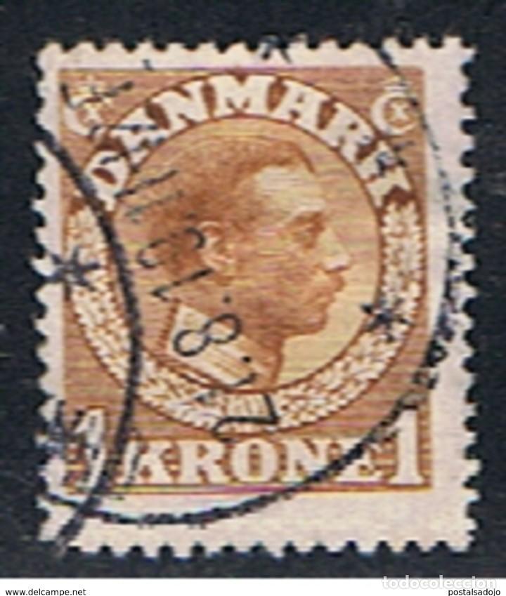 DINAMARCA // YVERT 80 // 1913 ... USADO (Sellos - Extranjero - Europa - Dinamarca)