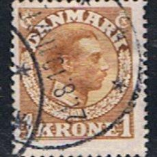 Selos: DINAMARCA // YVERT 80 // 1913 ... USADO. Lote 193169833