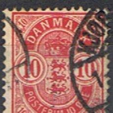 Selos: DINAMARCA // YVERT 36 A // 1882-95 ... USADO. Lote 193170196