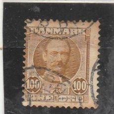 Francobolli: DINAMARCA 1907 - YVERT NRO. 61 - USADO - SEÑALES DE OXIDO. Lote 193756051