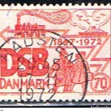 Sellos: DINAMARCA // YVERT 537 // 1972 ... USADO. Lote 193856742
