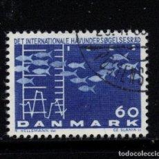 Sellos: DINAMARCA 435 - AÑO 1964 - CONGRESO INTERNACIONAL SOBRE LA EXPLOTACION MARINA. Lote 193948628