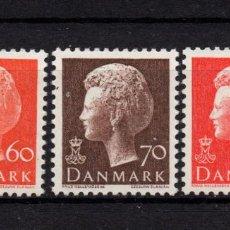 Sellos: DINAMARCA 579/81** - AÑO 1974 - REINA MARGRETHE II. Lote 193949106