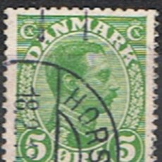 Sellos: DINAMARCA // YVERT 73 // 1913-19 ... USADO. Lote 193959071