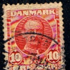 Sellos: DINAMARCA // YVERT 56 // 1907-12 ... USADO. Lote 193959276