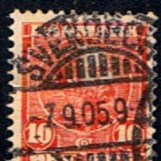 Sellos: DINAMARCA // YVERT 54 // 1915-06 ... USADO. Lote 193960345