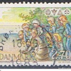 Sellos: DINAMARCA // YVERT 808 // 1984 ... USADO. Lote 193960650