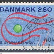 Sellos: DINAMARCA // YVERT 901 // 1987 ... USADO. Lote 193961218