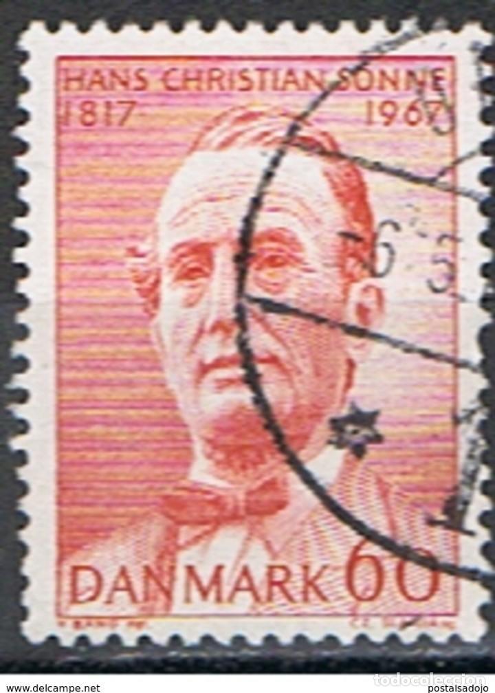 DINAMARCA // YVERT 475 // 1967 ... USADO (Sellos - Extranjero - Europa - Dinamarca)