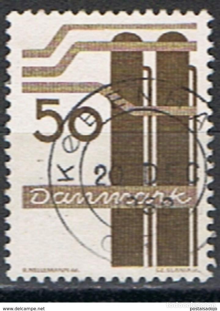 DINAMARCA // YVERT 482 // 1968 ... USADO (Sellos - Extranjero - Europa - Dinamarca)