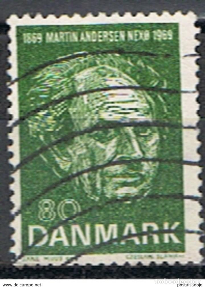 DINAMARCA // YVERT 493 // 1969 ... USADO (Sellos - Extranjero - Europa - Dinamarca)