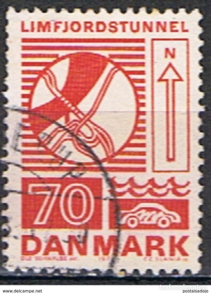DINAMARCA // YVERT 543 // 1972 ... USADO (Sellos - Extranjero - Europa - Dinamarca)