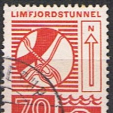 Sellos: DINAMARCA // YVERT 543 // 1972 ... USADO. Lote 194067605