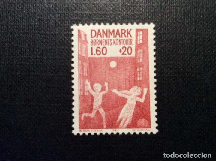 DINAMARCA Nº YVERT 730*** AÑO 1981. PROTECCION DE LA INFANCIA (Sellos - Extranjero - Europa - Dinamarca)