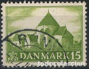 SELLO USADO DE DINAMARCA YT 295 (Sellos - Extranjero - Europa - Dinamarca)