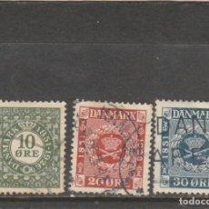 Sellos: DINAMARCA 1926 - YVERT NRO. 165-67 - USADOS. Lote 195237105