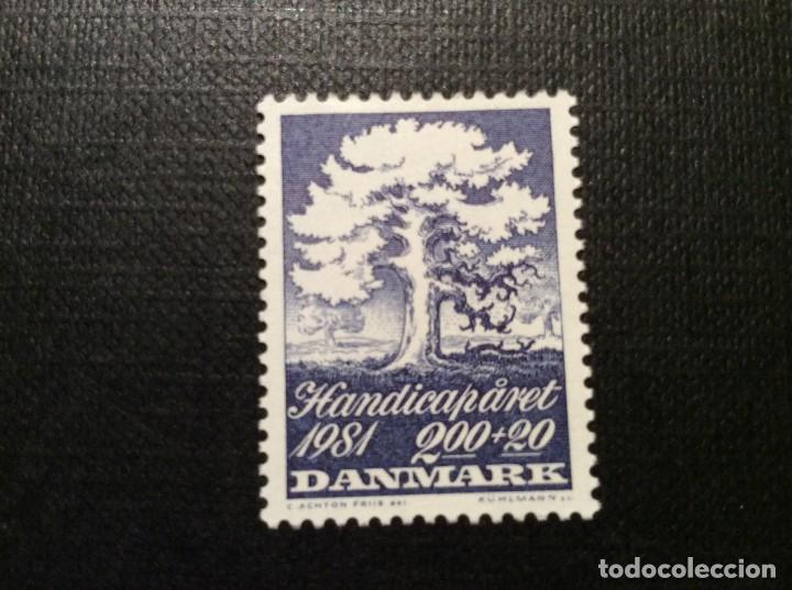 DINAMARCA Nº YVERT 741*** AÑO 1981. AÑO INTERNACIONAL DE LAS PERSONAS DISCAPACITADAS (Sellos - Extranjero - Europa - Dinamarca)