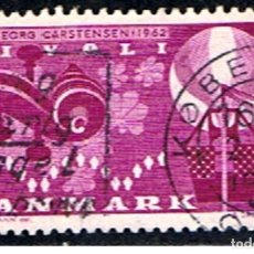 Sellos: DINAMARCA // YVERT 415 // 1962 ... USADO. Lote 195320481