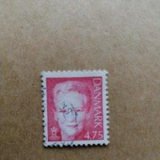Sellos: DINAMARCA - VALOR FACIAL 4.75 - REINA MARGARITA II . Lote 195425781