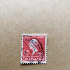 Sellos: DINAMARCA - VALOR FACIAL 15 ORE - AÑO 1935 - YV 232 - CUENTOS DE ANDERSEN. Lote 195451143