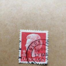 Sellos: DINAMARCA - VALOR FACIAL 100 - EFIGIE DE LA REINA MARGARITA II - YV 626. Lote 195451256