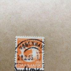 Sellos: DINAMARCA - VALOR FACIAL 10 ORE - SIRENA - YV 231. Lote 195451667
