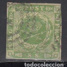Sellos: DINAMARCA, 1854 YVERT Nº 5. Lote 196226526