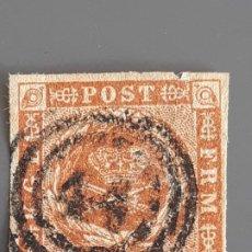 Selos: DINAMARCA, YVERT 4, 1854-64. Lote 196896635